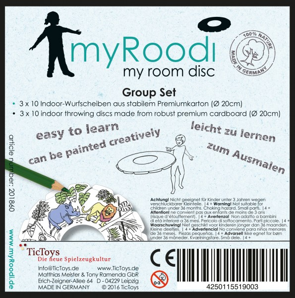 myRoodi – group set (30 pieces)